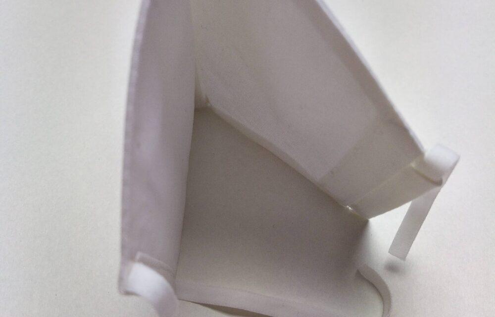 Унисекс бяла маска2